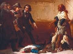 painting of fugitive slave Margaret Garner