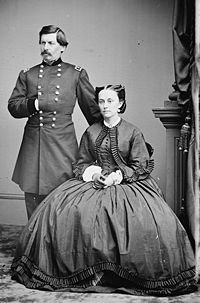 Ellen Mary Marcy Mcclellan and her husband General George B. McClellan
