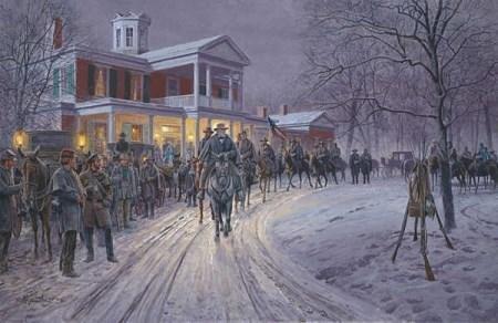 painting of General Robert E. Lee
