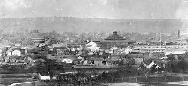 Civil War Hospitals in Alexandria