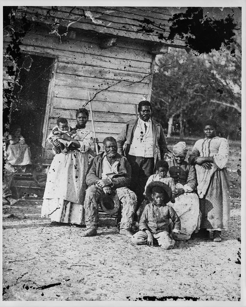Five generations of slaves on Smith's Plantation Beaufort, South Carolina, circa 1862