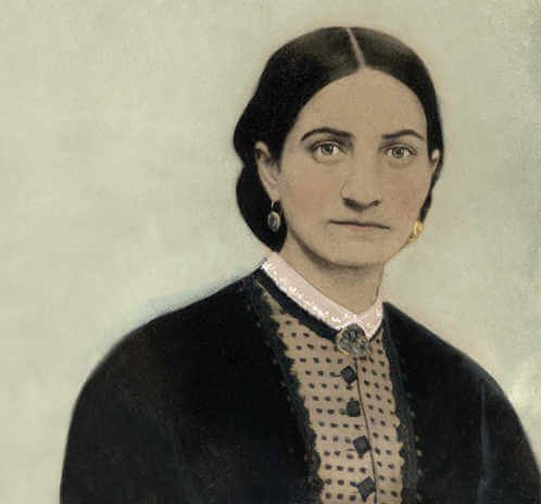 An upper class lady from Mobile, Kate Cumming challenged social convention by joining the Confederate cause as a nurse, traveling throughout the Southeast from 1862 to 1865 to care for the wounded.