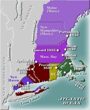 the history of the puritans in new england Our aim is to make christian history enjoyable and applicable to the the american puritans: new england puritans devised an approach to church membership that.