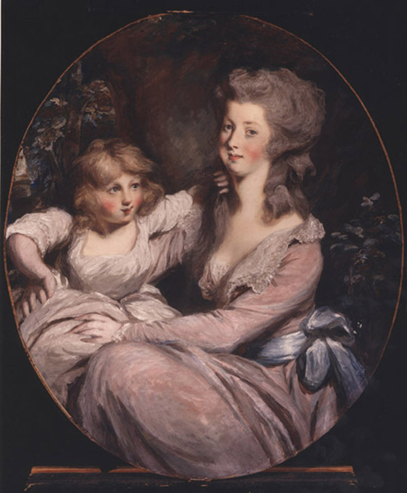 Peggy Shippen Arnold and her daughter