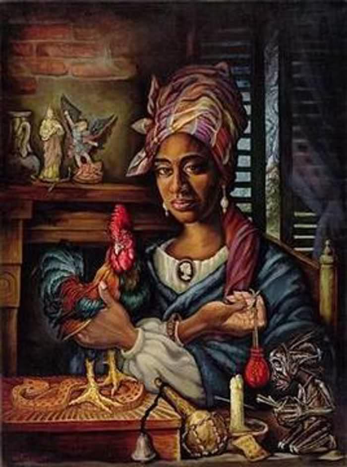 Marie Laveau by New Orleans artist Dimitri Fouquet