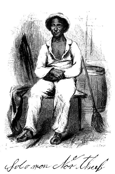 a free black from New York who was captured and sold into slavery