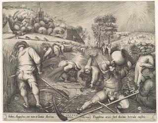 Summer (Aestas) from the series The Seasons by Pieter van der Heyden after Pieter Bruegel the Elder