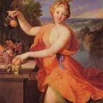 Pomona, a goddess
