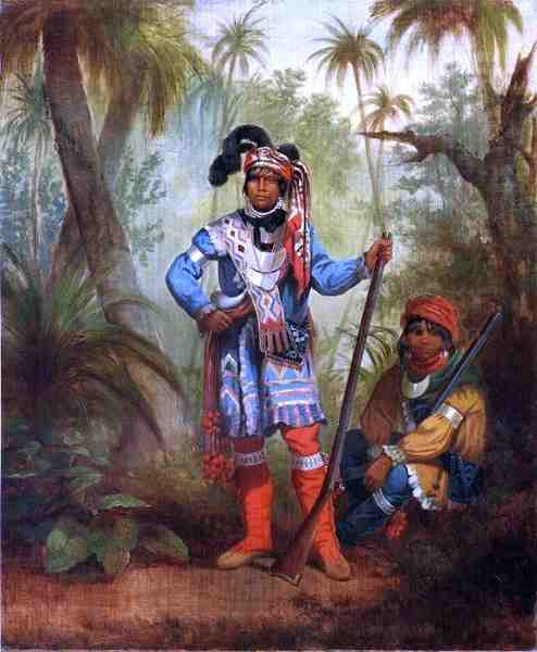 Chief Bowlegs fought against the United States in the War of 1812