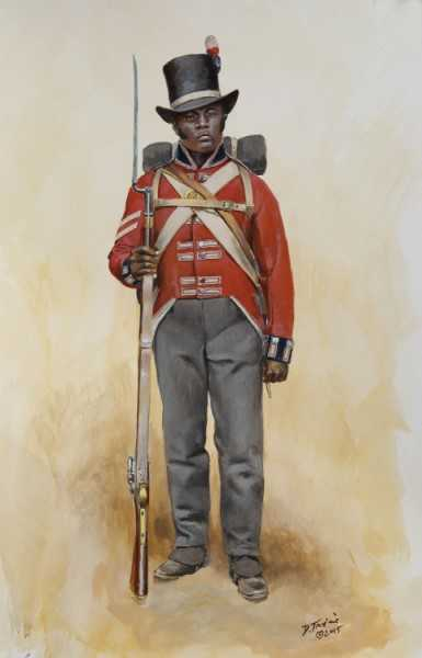 A soldier in the Corps of Colonial Marines