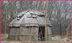 Wampanoag House called the Wetu. Rhode Island history