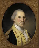 General George Washington, commander of the Continental Army
