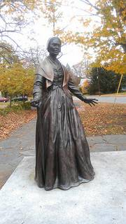 monument to Sojourner Truth, who lectured in favor of women's suffrage, the abolition of slavery and land grants for former slaves