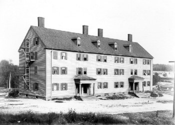 dormitories where mill girls lived