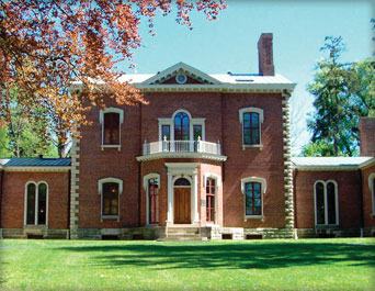 Ashland, home of Henry and Lucretia Clay in Kentucky