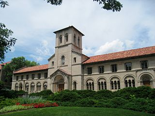 one of the main buildings at Oberlin College in Oberlin, Ohio