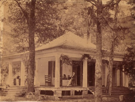 Jefferson Davis at Sarah Dorsey's home